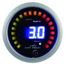 DEPO óra, műszer 2in1 - TURBO, Kipufogógáz hőmérséklet